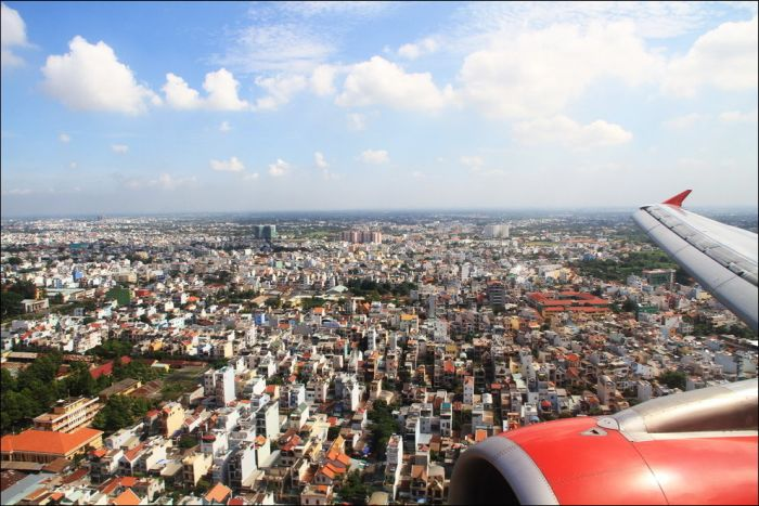 Uçaktan Çekilen Kuşbakışı Resimler(50 Fotograf)