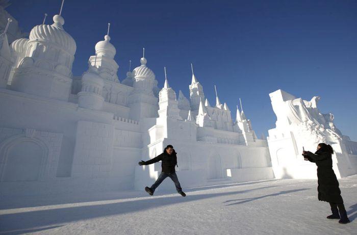 Harbin Buz ve Kar Festivali (9 Fotograf)