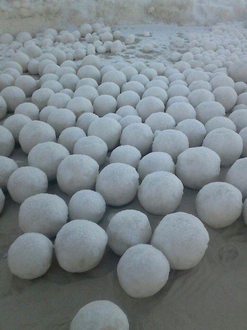 Ob Körfezi'nde Buz Topları (5 Fotograf)