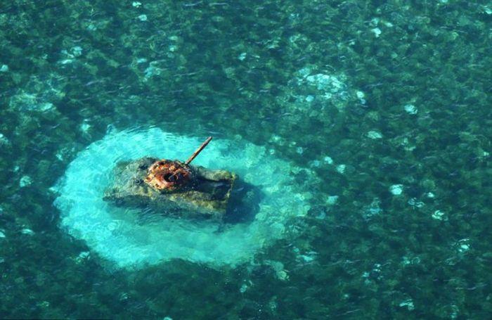 Pasifik Okyanusunda 2.Dünya Savaşından Geriye Kalanlar(34 Fotograf)