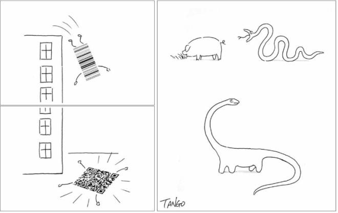 Gao Tango'dan Basit Ama Akıllı ve Eğlenceli Çizimler (15 fotoğraf)