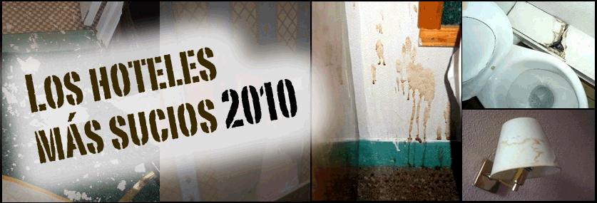 Los 10 hoteles más sucios de 2010 según TripAdvisor