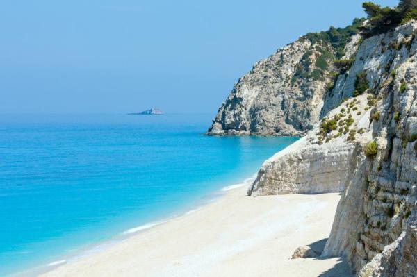 Relax on Egremni Beach Lefkada Greece Bucket List