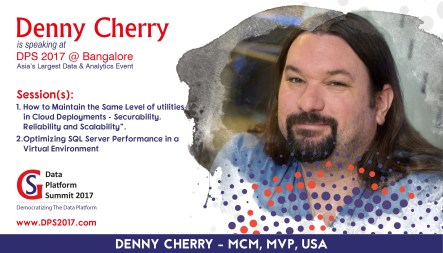 Denny is presenting a precon session in India
