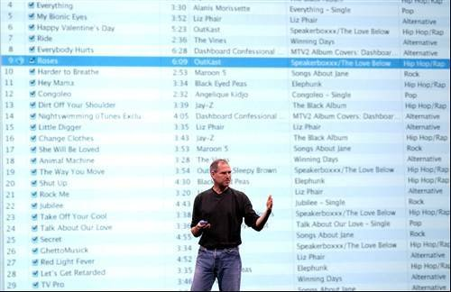 Steve Jobs iTunes Photo