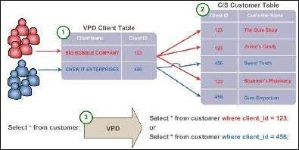 oracle vpd ile ilgili görsel sonucu