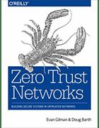 'Zero Trust Networks' book cover image