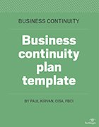 Using a business plan template ensures that you have considered all of the major factors — the good, the bad and the ugly — before moving ahead with launching your small business. Ten Business Continuity Risks To Monitor