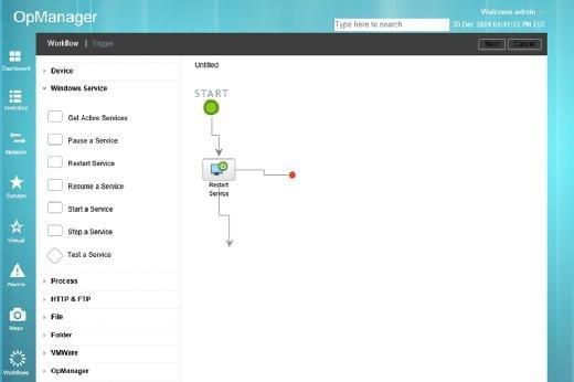 OpManager hat auch eine anständige Berichts-Engine