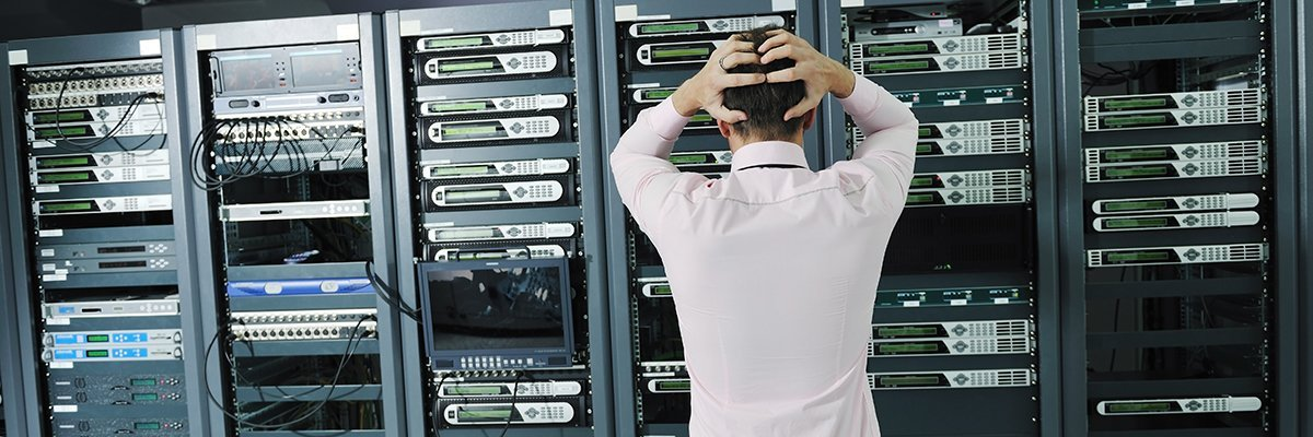 Failure provides the best data center training