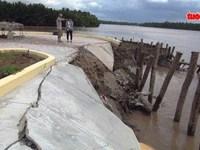 Tượng đài bạc tỉ đang xây dựng có nguy cơ trôi sông