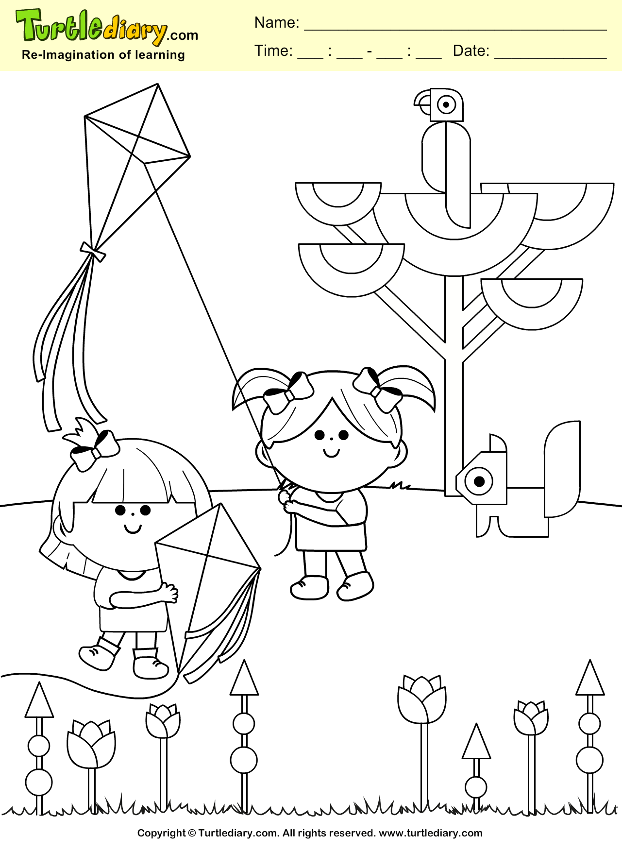 Saturated Solution Coloring Pages