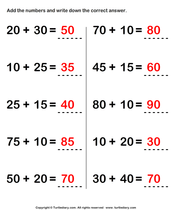 Find Sum of Two Two Digit Numbers using Regrouping