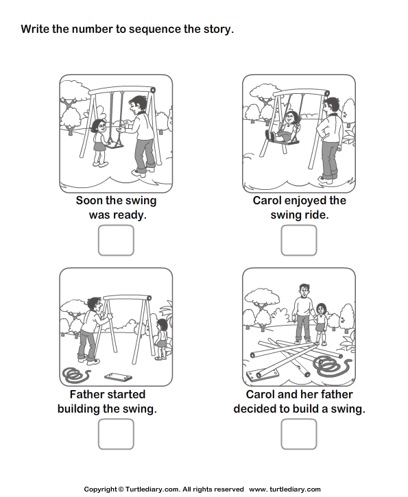 NEW 216 FIRST GRADE WORKSHEETS SEQUENCING EVENTS