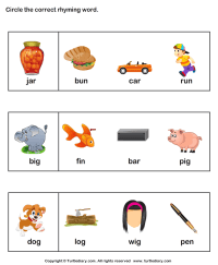 Rhyming Words Activities