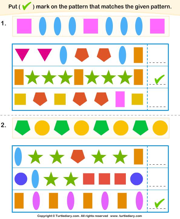 Similar Pattern