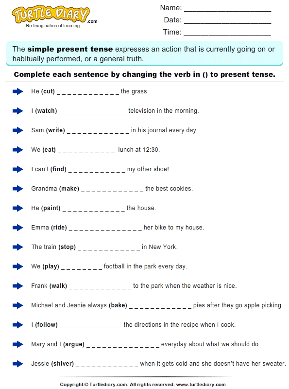 Grammar Pdf Conditional Tenses English