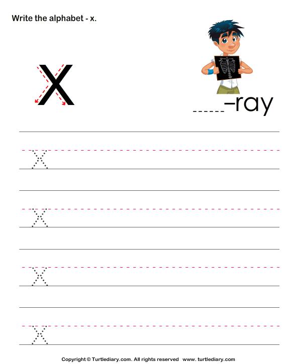 V Lowercase Letter Worksheets