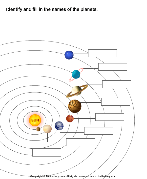 diagram of moon phases printable 2000 ford focus wiring planets solar system worksheet - turtle diary
