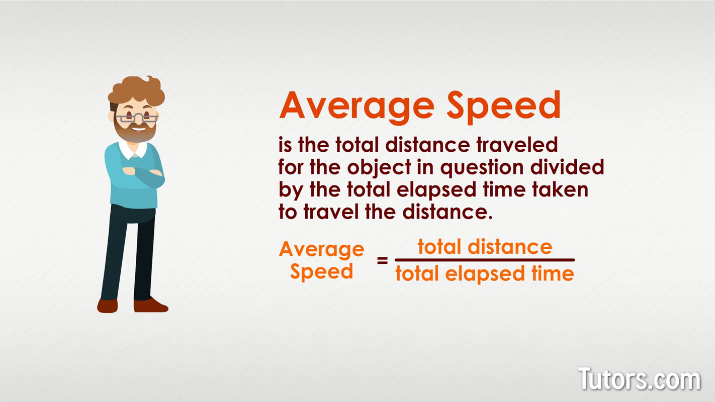 hight resolution of How To Find Average Speed (Formula \u0026 Examples)
