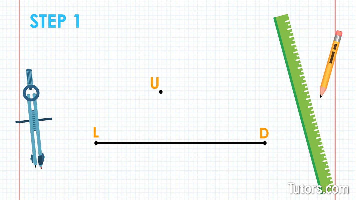 How To Construct Parallel Lines Video 5 Easy Steps