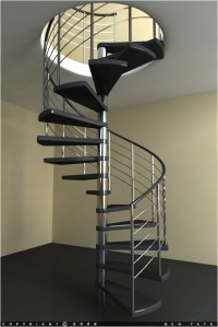 Model a Modern Spiral Staircase in 3ds Max