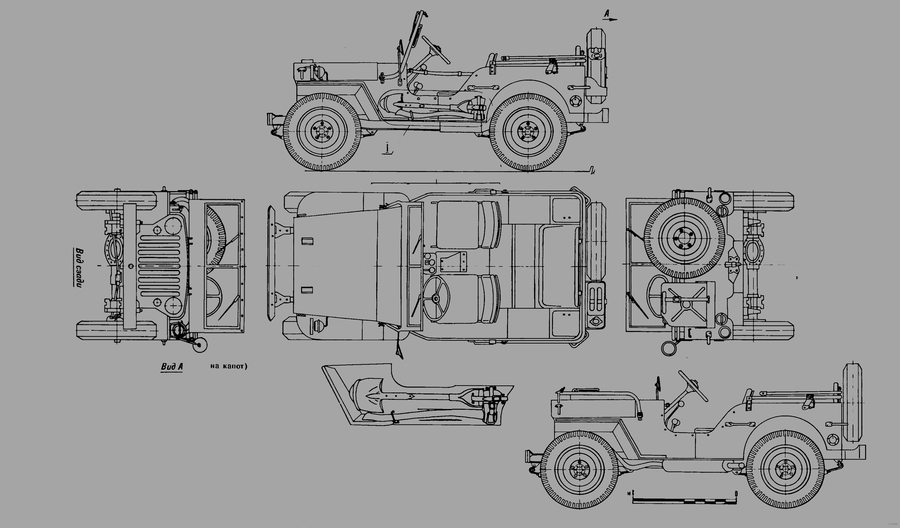 Willys Jeep Restoration Wiring Diagrams Willys Jeep Wagon