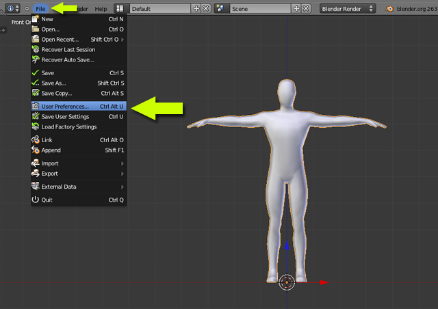 Blender 2 6 Character Modeling Tutorial : How to animate a character in blender howsto