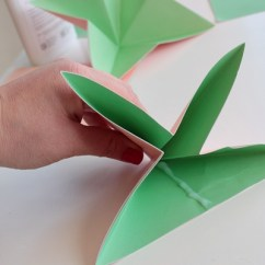 Origami Flower Diagram In English Honda 250ex Wiring Make A Bouquet Of Beautiful Paper Flowers For Mother S Day Step 5