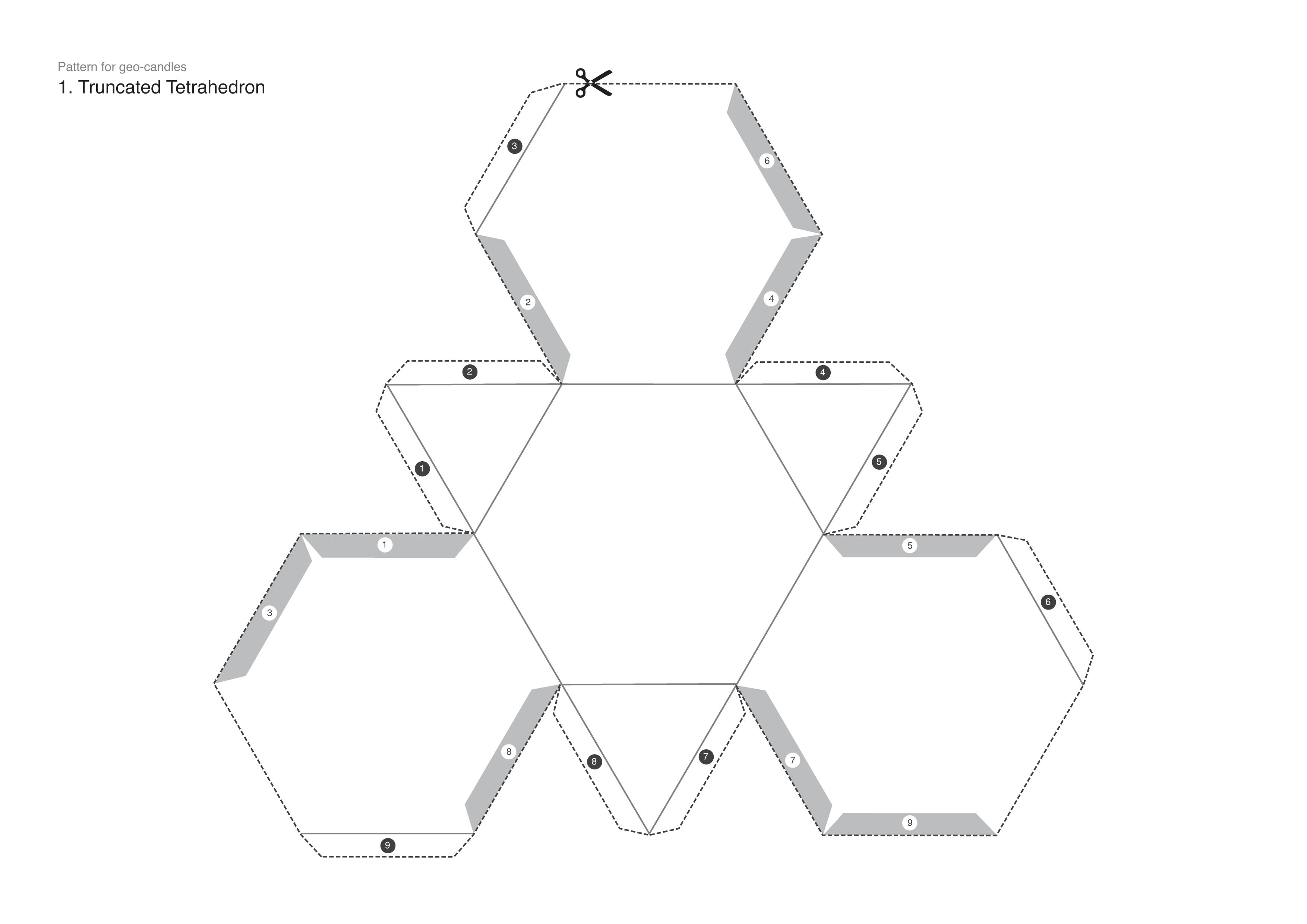 How To Make A Cool Geometric Candle