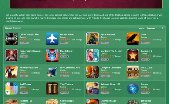 A Beginner S Guide To Game Center On The Mac