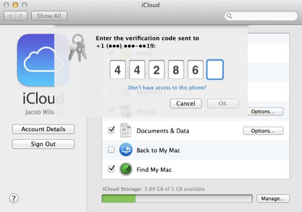 Ouais, ce code de vérification ne vous aidera pas.