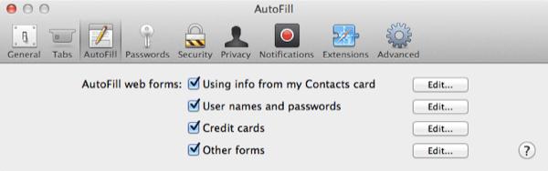 Je ne peux pas vous montrer tous mes mots de passe, nous allons donc simplement regarder un écran général ici.