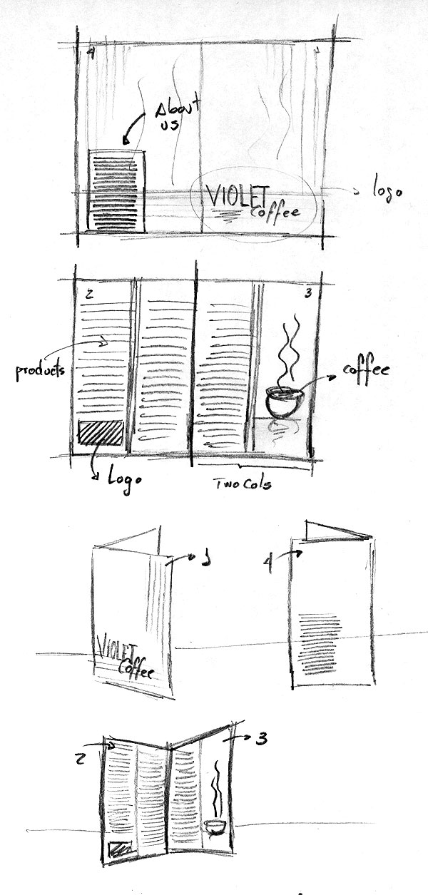 Design a Coffee Shop Menu Layout from Scratch  Part 1