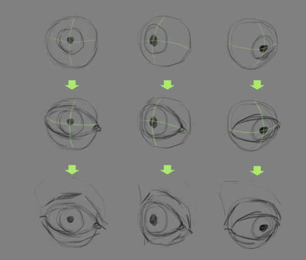 Quick Tip: How to Draw Realistic Eyes in Photoshop