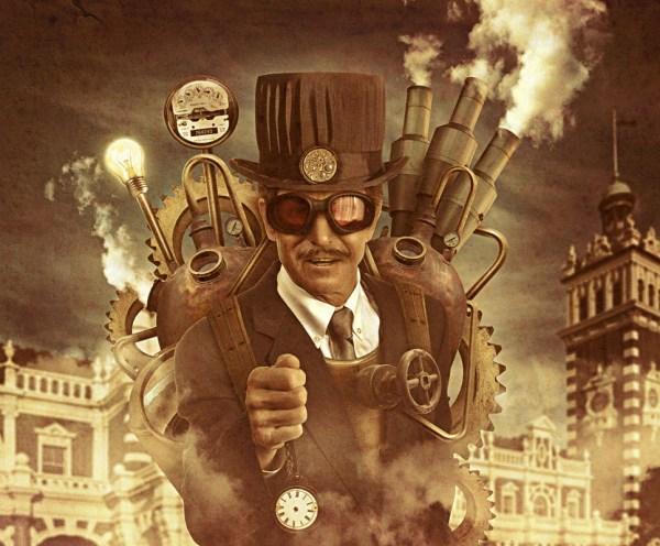 Photoshop Tutorials Steampunk