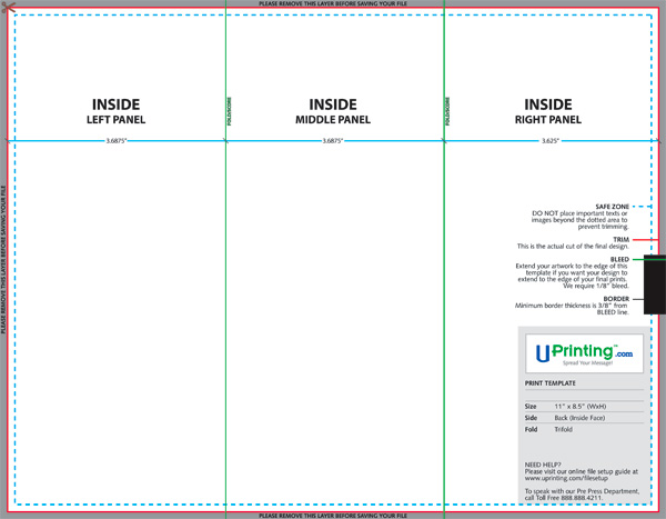 Create And Print A Brochure With Photoshop Indesign And
