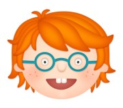 create fun red-haired