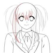 membuat karakter anime vectior