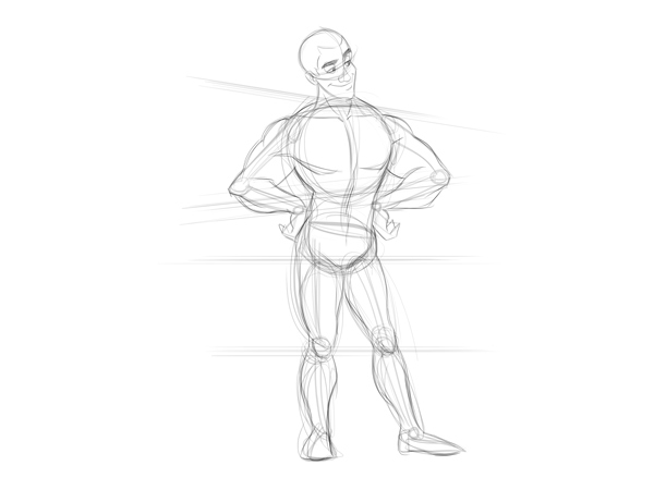 Cartoon Fundamentals: How to Draw a Cartoon Body