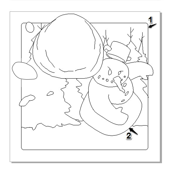How to Create an Android Winter Game App Icon in CorelDRAW
