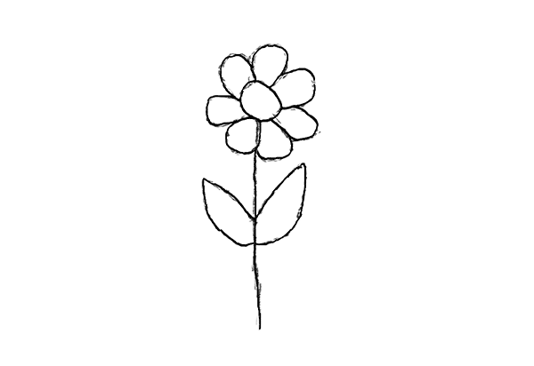 I Want To Draw Simple Exercises For Complete Beginners