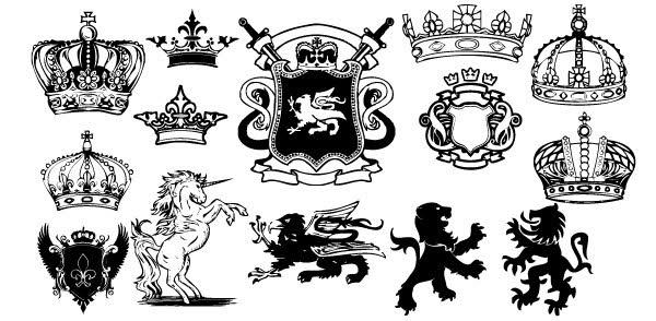 Medieval Crest Clipart