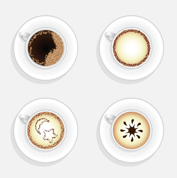 Quick Tip How To Create A Cup Of Coffee In Top View