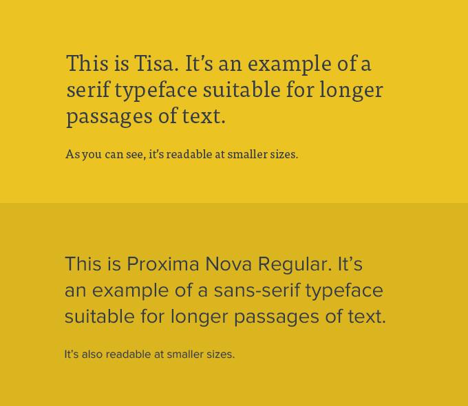 serif-sans