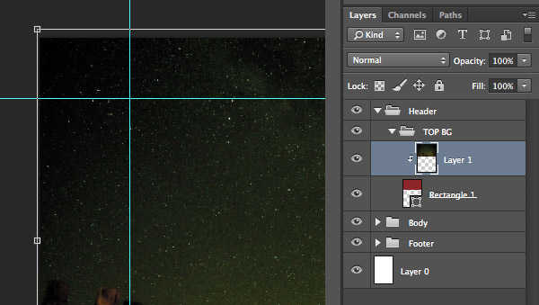 Create clipping mask and resize
