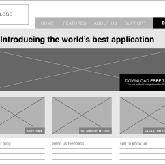 Website Wireframe Diagram Example Wiring Ge Refrigerator A Beginners Guide To Wireframing