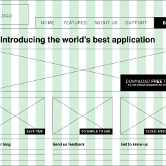 Website Wireframe Diagram Example Dodge Ram Wiring Trailer A Beginners Guide To Wireframing