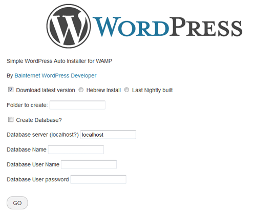 Instant WordPress Development With WAMP