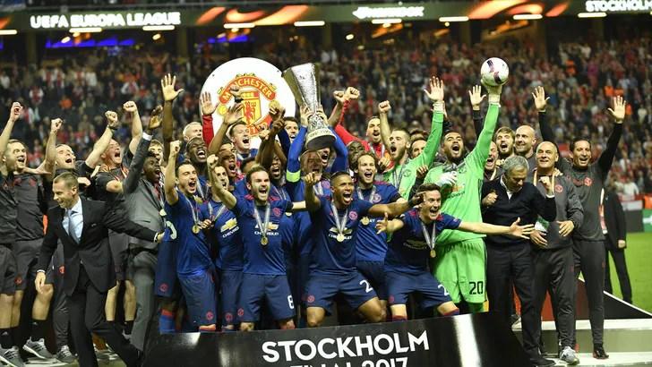 Risultati immagini per Europa League, finale Ajax-Manchester United 0-2: vincono gli inglesi e vanno in Champions